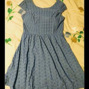 Xhilaration Blue  Dress